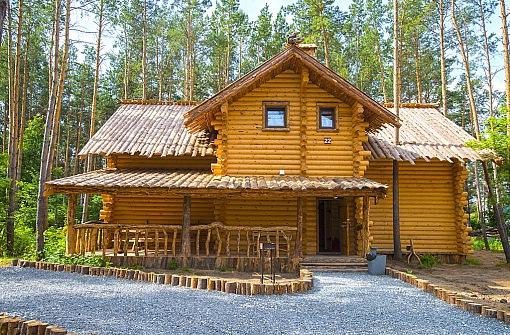 Архангельская слобода - Дом десятиместный - Фасад